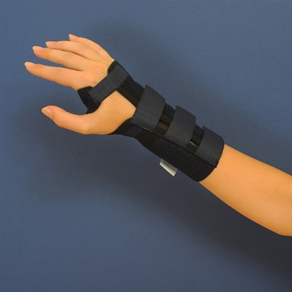 Attēls Short wrist orthosis without thumb (C250)