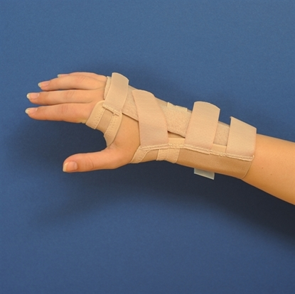 Attēls Short open orthosis without thumb (C50)