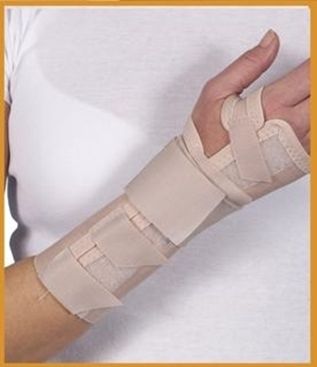 Attēls Long open orthosis without thumb (C60)
